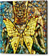 Ancient Goddess The Mother Acrylic Print