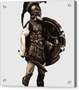 Ancient Greek Hoplite Acrylic Print