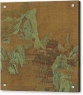 Ancient Landscape Acrylic Print