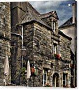 Ancient Mansion - Rochefort-en-terre - La Bretagne Acrylic Print