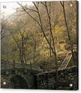 Ancient Mountain Trail Acrylic Print