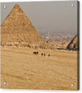 Ancient Of Times - Modern Of Times Acrylic Print