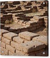 Ancient Pueblo Adobe Walls Acrylic Print