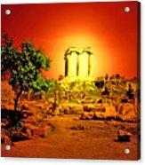 Ancient Ruins Acrylic Print
