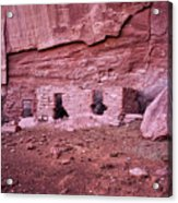 Ancient Ruins Mystery Valley Colorado Plateau Arizona 04 Acrylic Print