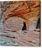 Ancient Ruins Mystery Valley Colorado Plateau Arizona 05 Acrylic Print