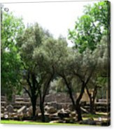 Ancient Ruins Temple Grounds 2 Acrylic Print