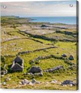 Ancient Settlement In The Burren Acrylic Print