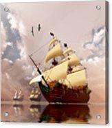 Ancient Ships Acrylic Print