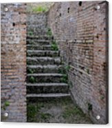 Ancient Stairs Rome Italy Acrylic Print