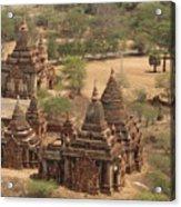 Ancient Stupa Acrylic Print
