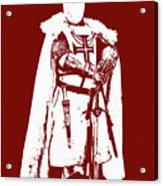 Ancient Templar Knight - 03 Acrylic Print