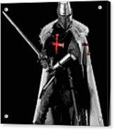 Ancient Templar Knight - 05 Acrylic Print