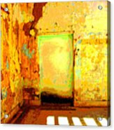 Ancient Wall 8 By Michael Fitzpatrick Acrylic Print by Mexicolors Art Photography