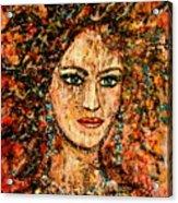 Ancient Woman Acrylic Print