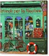 Ancora Una Bicicletta Rossa Acrylic Print