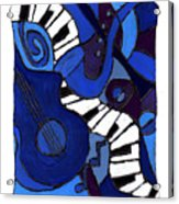 and All That Jazz two Acrylic Print