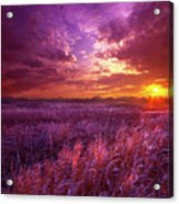 And I Dreamt Of Waking Acrylic Print