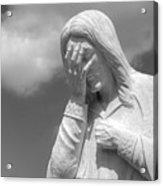And Jesus Wept II Acrylic Print