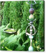 And Sculpture Garden Acrylic Print