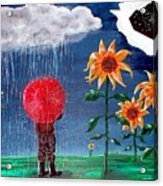 And The Heavens Opened Acrylic Print