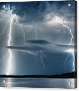 And There Was Light Acrylic Print