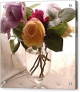 And Violet Roses Too Acrylic Print