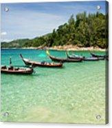 Andaman Coast Acrylic Print
