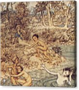 Andersen: Little Mermaid Acrylic Print