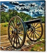 Andersonville Cannon Acrylic Print