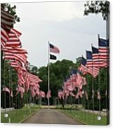 Andersonville National Cemetery Acrylic Print
