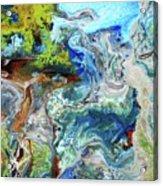 Andes-glacier...serie Acrylic Print