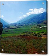 Andes  Acrylic Print