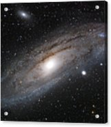 Andromeda Galaxy Lightened Acrylic Print