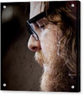Andy Hull Of Manchester Orchestra Acrylic Print by Dustin K Ryan