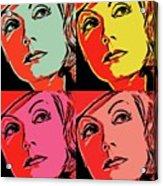 Andy Loves Greta Acrylic Print