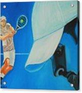 Andy Roddick Acrylic Print