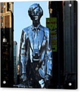 Andy Warhol New York Acrylic Print by Andrew Fare