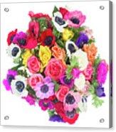 Bouquet Of Anemones Acrylic Print