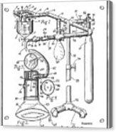 Anesthetic Machine Patent 1919  Acrylic Print