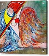 Angel - Study 1 Acrylic Print