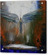 Angel Abstract  Acrylic Print