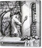 Angel And Still Life Acrylic Print