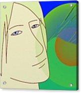 Angel And The Light Acrylic Print