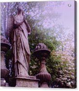 Angel At Old Swedes Acrylic Print
