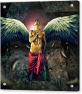 Angel Body Art Acrylic Print