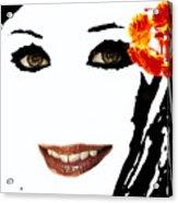 Angel Eyes Acrylic Print