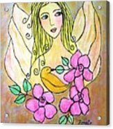 Angel-face Acrylic Print