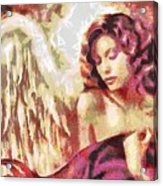 Angel Fragmented Acrylic Print