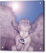 Angel-heart Acrylic Print by Ramon Labusch